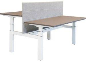 Project Elektrisch Bureau Duo H-frame